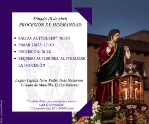 Procesión de Hemandad @ Capilla Ntro. Padre Jesús Nazareno