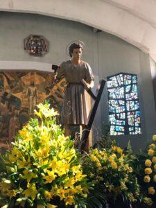 La Real Hermandad de Jesús Divino Obrero celebró su festividad.