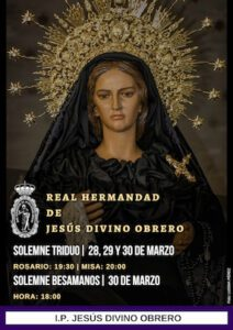 Triduo y Besamanos de La Virgen de La Soledad @ I.P. JESÚS DIVINO OBRERO