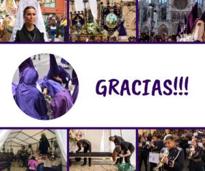 Agradecimiento Semana Santa 2019